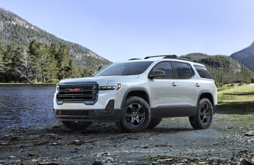 2022 GMC Acadia Exterior