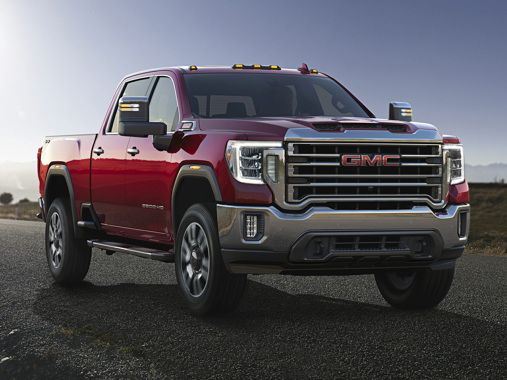 2020 Gmc Sierra 2500Hd Slt 4X2 Crew Cab 6.75 Ft. Box 158.9 In. Wb Specs And  Prices 2020 Gmc Sierra 2500Hd Dimensions, Engine Options, Horsepower