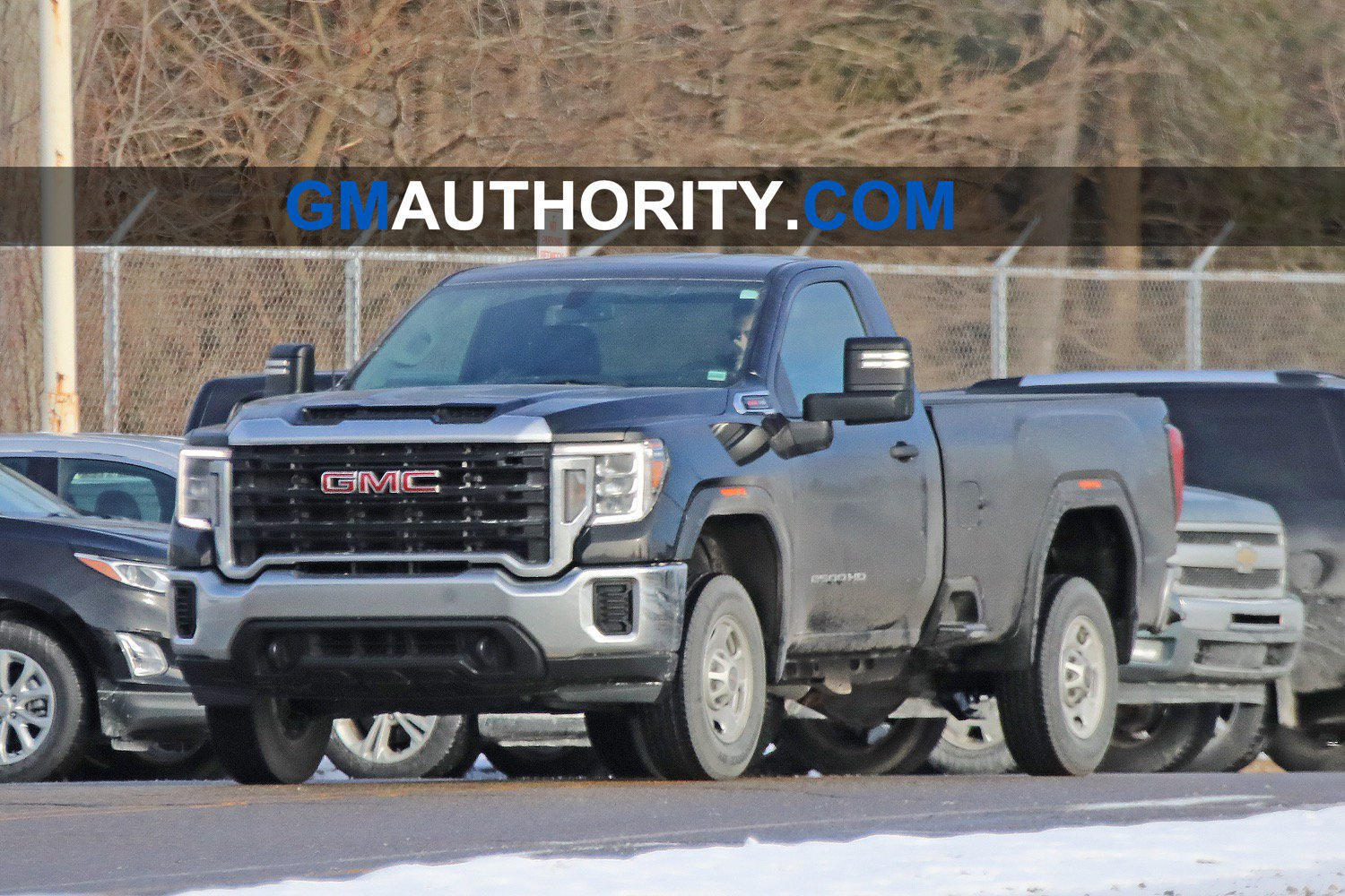 First Look At 2020 Gmc Sierra Hd Regular Cab: Photo Gallery | Gm 2020 Gmc Sierra 2500Hd Regular Cab