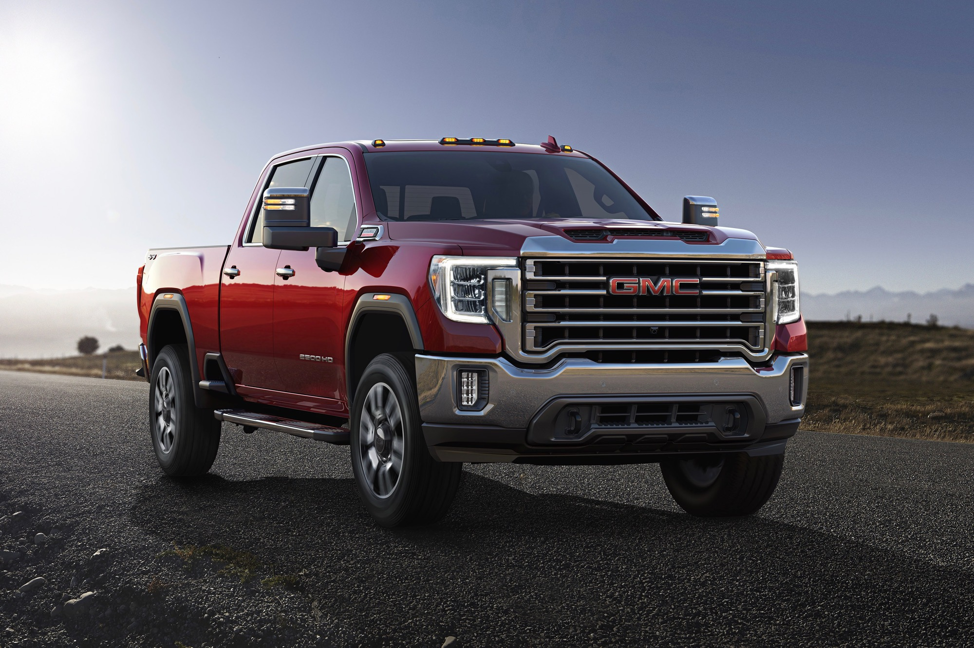 Gmc 2020 Heavy Duty Lineup Continues With Sierra Hd Models 2020 Gmc Sierra 2500Hd Double Cab