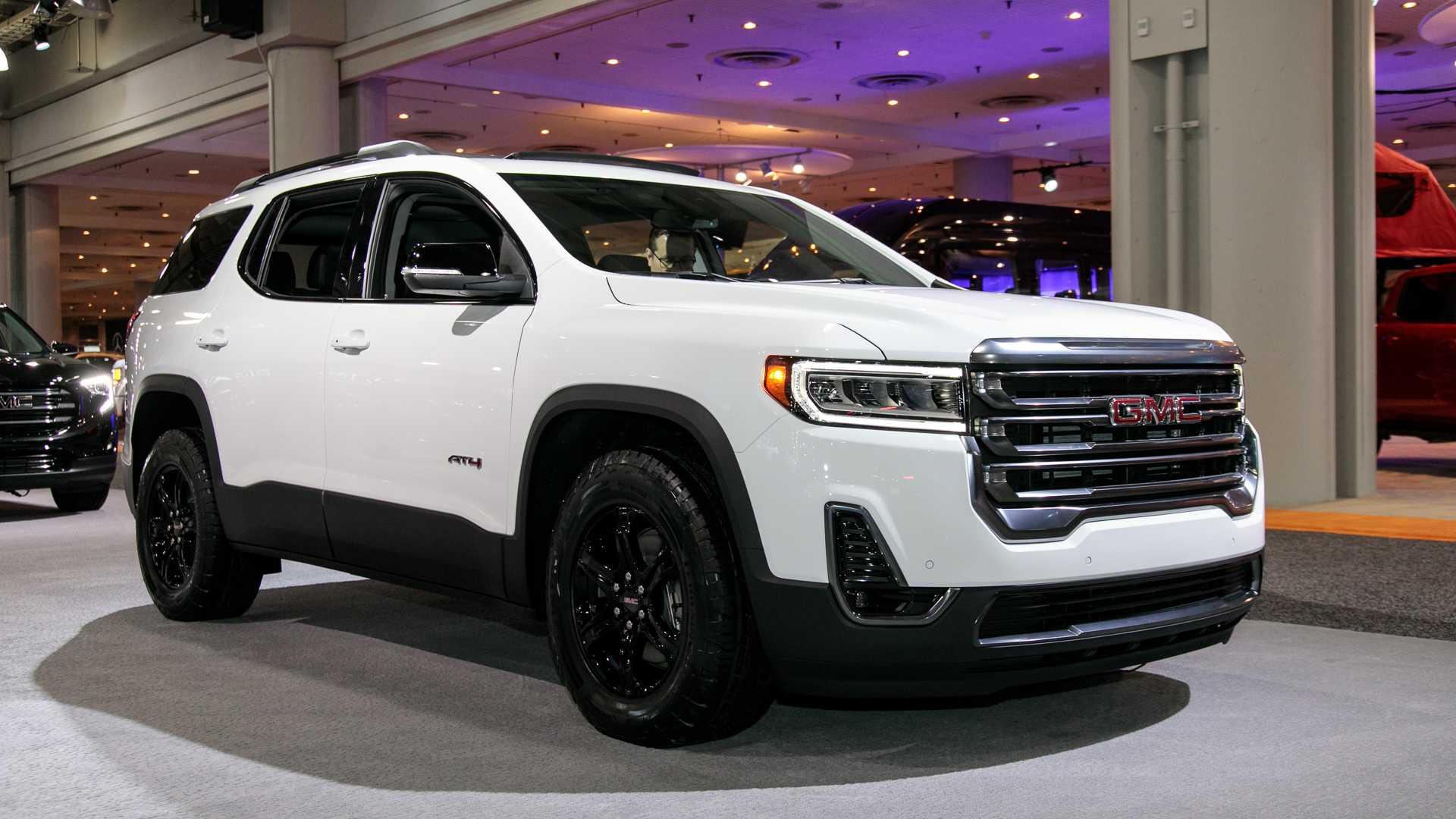 2021 gmc acadia models ratings redesign  2022 gmc